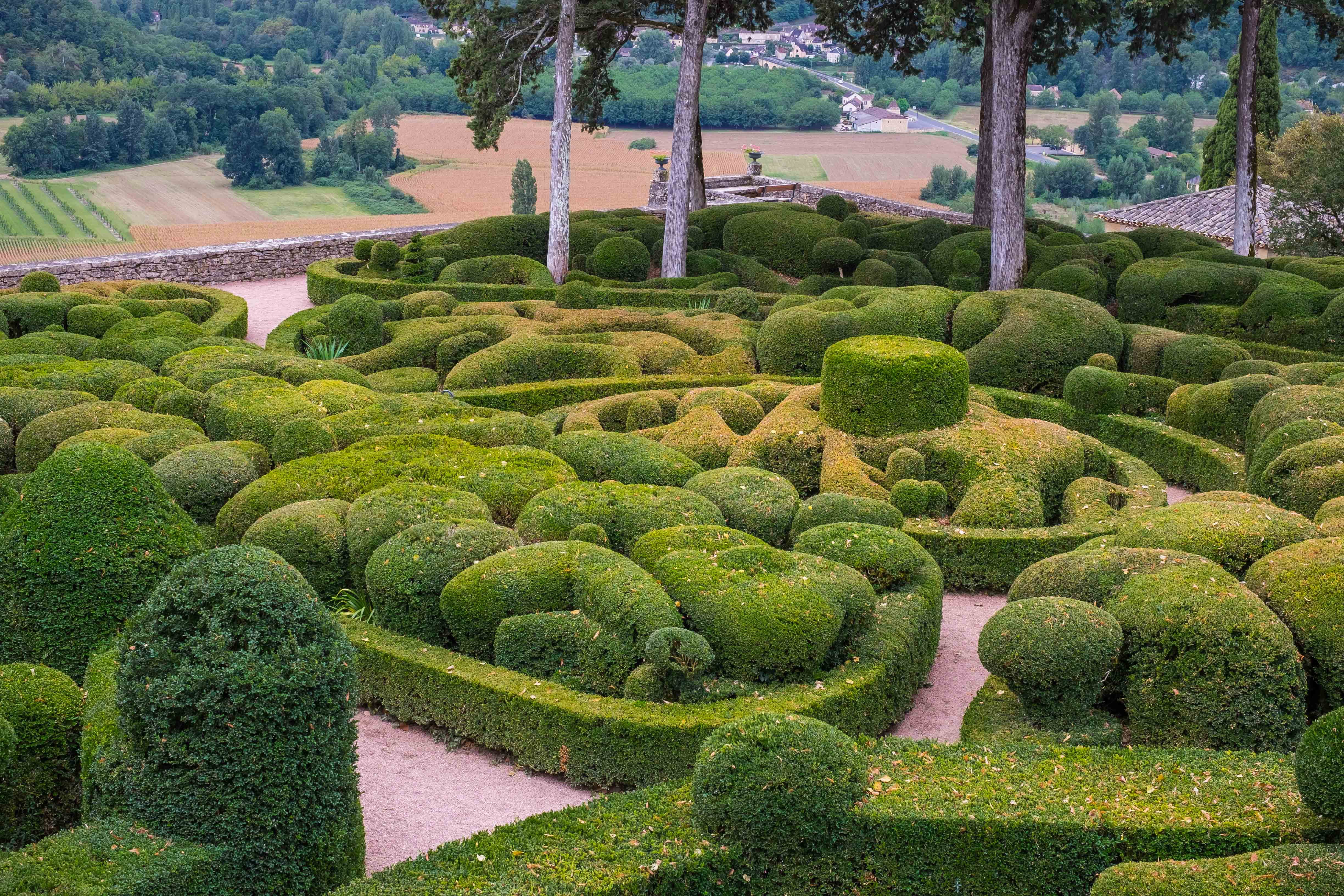 The Gardens at Marqueyssac – one of France's great tourist destinations in the Dordogne
